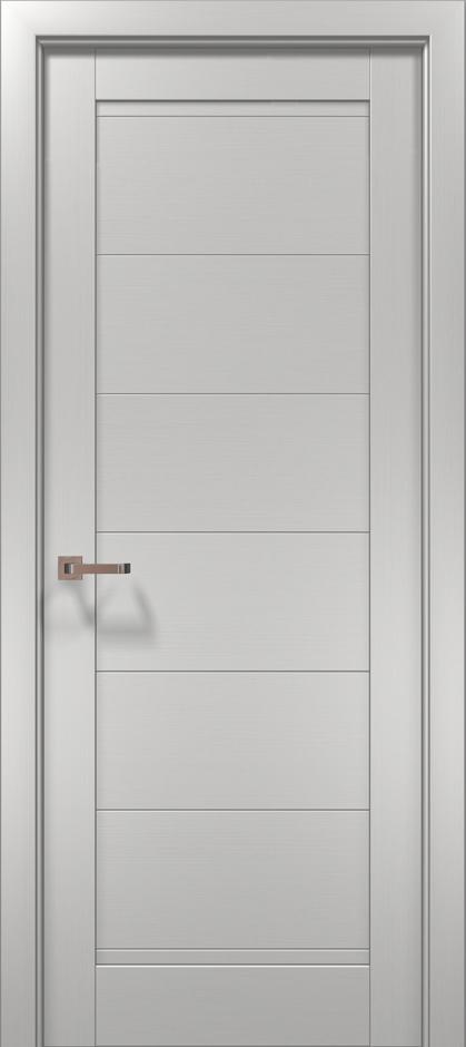 Дверное полотно 2000х910х40 Папа Карло Optima 3F клен белый