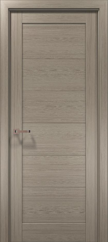 Дверное полотно 2000х810х40 Папа Карло Optima 3F клен серый
