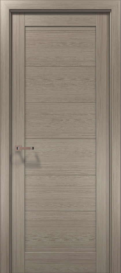 Дверное полотно 2000х910х40 Папа Карло Optima 3F клен серый