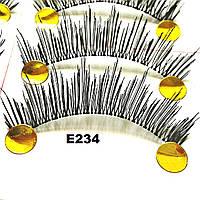 Эффектные накладные ресницы по 10 пар (14 видов) 12, К центру, На леске