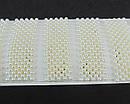 Заколки для волос пластик имитация жемчуга 7.5 см основа золото 12 шт/уп., фото 3