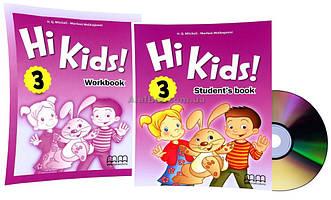 Английский язык / Hi Kids / Student's+Workbook+CD. Учебник+Тетрадь (комплект), 3 / MM Publications