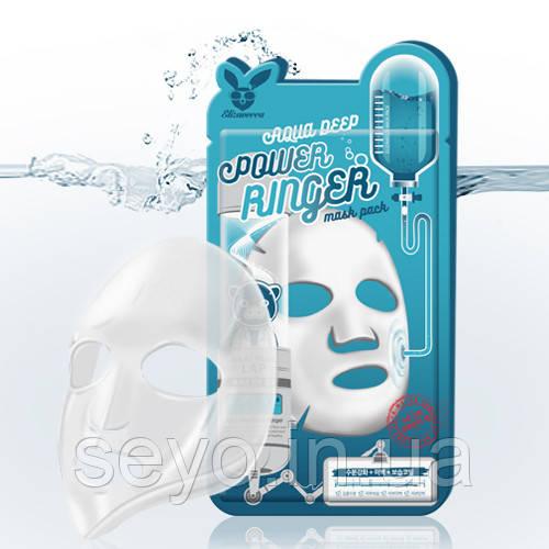 Маска Увлажняющая Для Сухой Кожи Elizavecca Aqua Deep Power Ringer Mask, 23 Мл