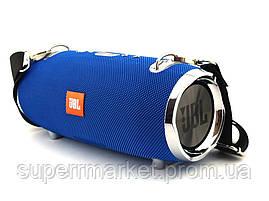 JBL XTREME 2+ BIG 40W копия, портативная колонка с Bluetooth FM MP3, синяя, фото 3