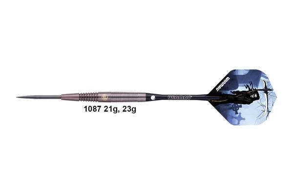 Дротики steel Winmau TESTAMENT 90% вольфрама 23 грамма, фото 2