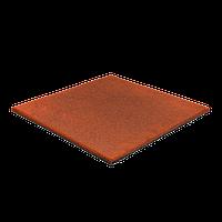 Резиновая плитка 20 мм (оранжевая), фото 1