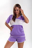 Стильный женский комплект с шортами