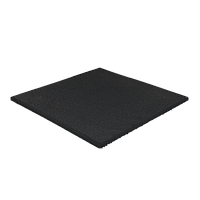 Резиновая плитка 20 мм (черная)