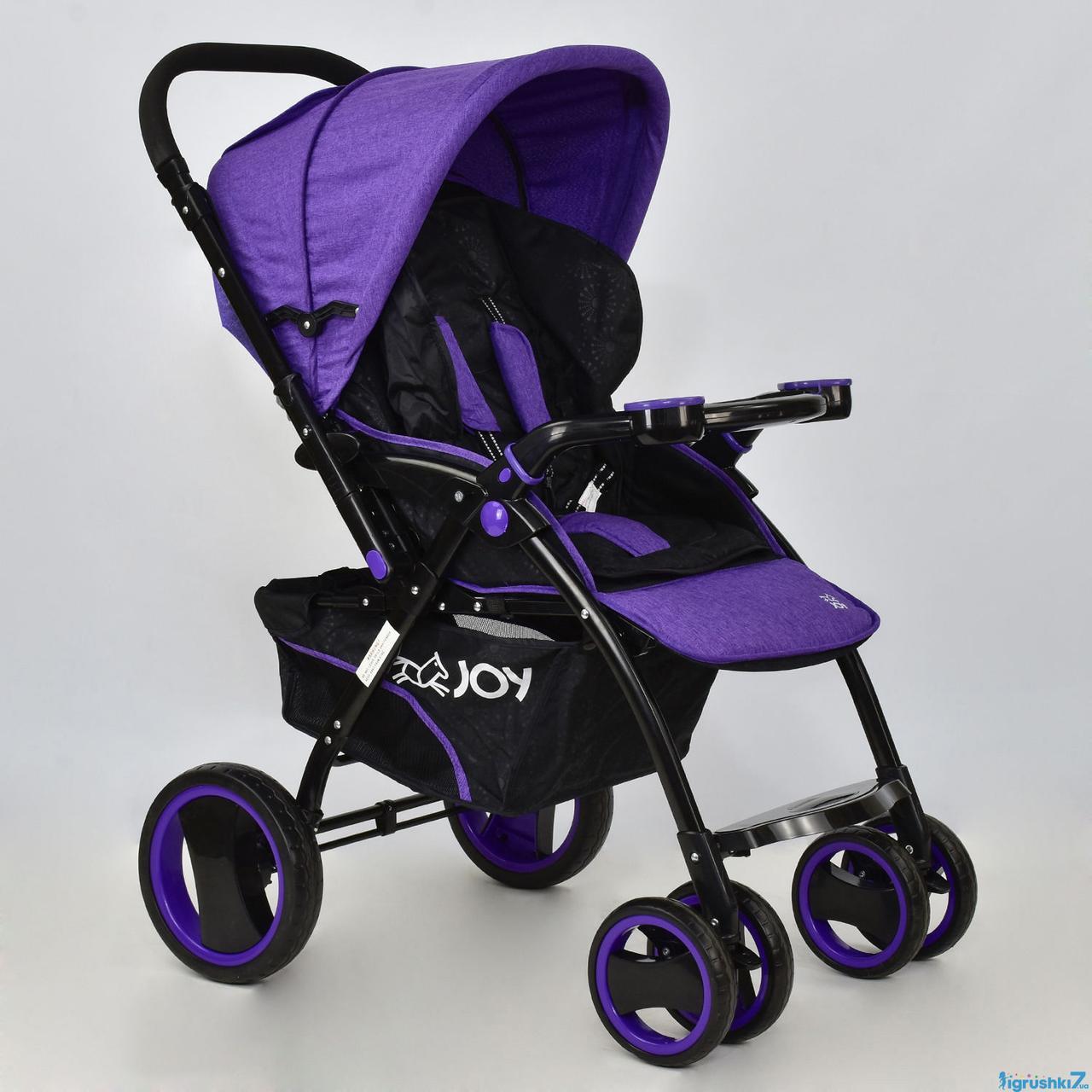 Коляска детская Т 100 JOY фиолетовый