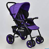 Коляска детская Т 100 JOY фиолетовый, фото 1
