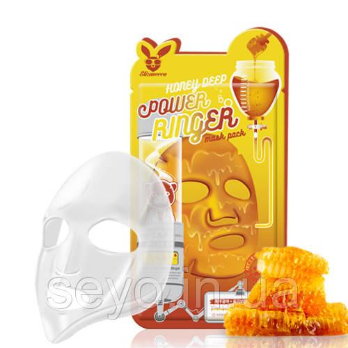 Лифтинг-Маска Медовая Elizavecca Honey Deep Power Ringer Mask Pack, 23 Мл