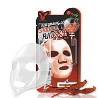 Маска Омолаживающая С Женьшенем Elizavecca Red Ginseng Deep Power Ringer Mask Pack, 23 Мл