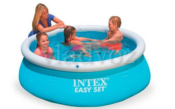 Семейный детский наливной бассейн Intex 28101 183*51 см. на 886 литров