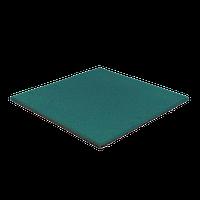 Резиновая плитка 20 мм (зеленая), фото 1