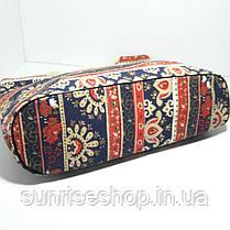 Пляжна сумка текстильна річна Орнамент опт, фото 3