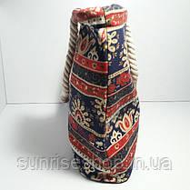 Пляжна сумка текстильна річна Орнамент опт, фото 2