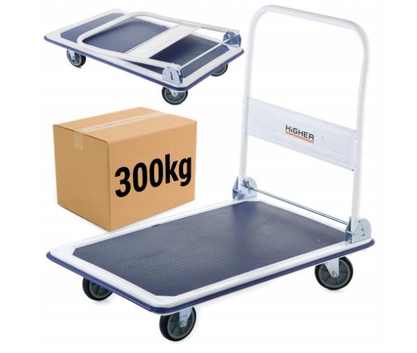 Транспортная тележка платформа Higher 300 кг