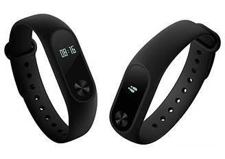 Фитнес браслет Smart Mi Band 2 Black  M 2 Умные часы