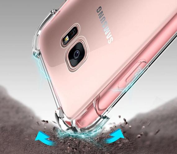 Противоударный силиконовый чехол для Samsung Galaxy J7/J700 (2015)