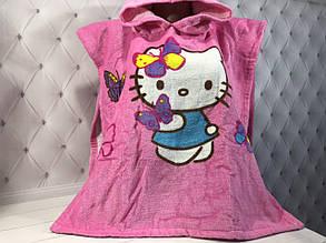 "Дитяче пляжне пончо ""Hello Kitty-2"""