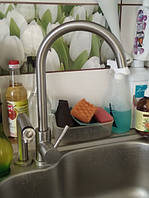 Смеситель для кухни однорычажный нержавеющий GERTS FS3504NS