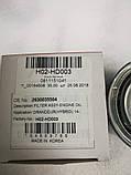 Фильтр масляный бензин Hyundai Kia, H02-HD003, 2630035504, фото 3