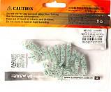 Силиконовая приманка съедобная Flat Worm (Червь Плоский), TBR-015, цвет 007, 10шт., фото 3