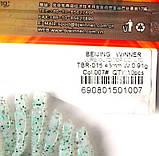 Силиконовая приманка съедобная Flat Worm (Червь Плоский), TBR-015, цвет 007, 10шт., фото 4