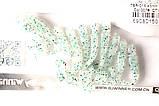 Силиконовая приманка съедобная Flat Worm (Червь Плоский), TBR-015, цвет 007, 10шт., фото 5
