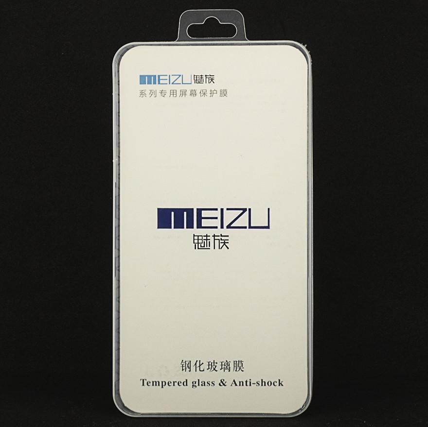 Защитное стекло Meizu U20 полноэкранное белое box