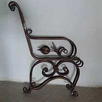 Скамейка садовая декор боковины 2 шт.