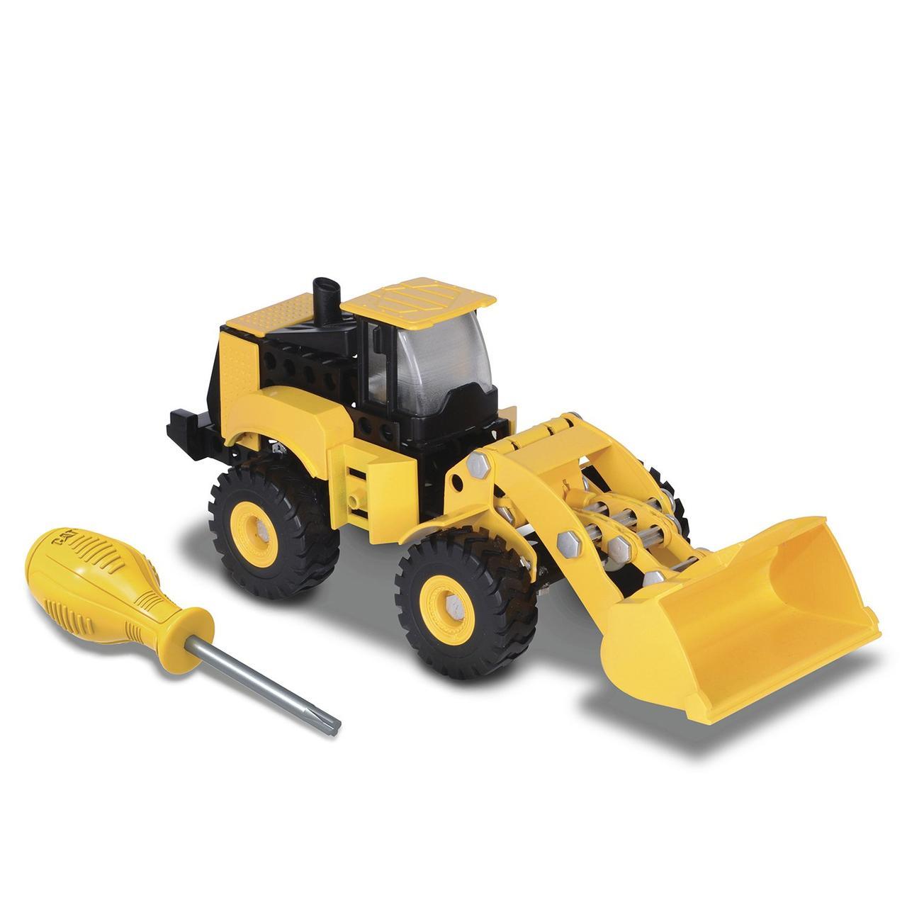 Toy State — CAT Конструктор Machine Maker погрузчик 80933