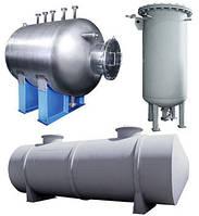 Аппараты емкостные цилиндрические для газовых и жидких сред, фото 1