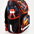 "Комплект. Рюкзак школьный каркасный ТМ ""Kite"" Hot Wheels HW18-501S-1 + пенал + сумка, фото 2"