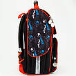 "Комплект. Рюкзак школьный каркасный ТМ ""Kite"" Hot Wheels HW18-501S-1 + пенал + сумка, фото 3"