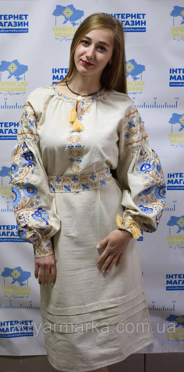 cfbf37f1e38210 Ніжне вишите жіноче плаття