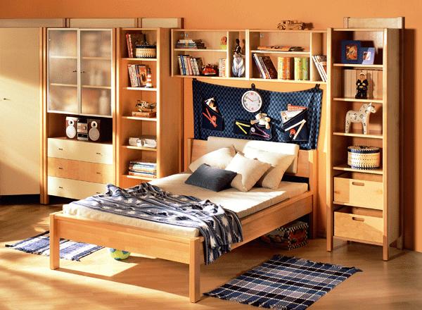 Кровать подростковая деревянная 120*200мм