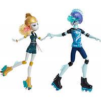Кукла Monster High Лагуна и Гил Веббер Любовь на колесах - Lagoona Blue & Gil Webber Wheel Love