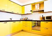 Желтая глянцевая кухня ViAnt на заказ Киев и обл., Ирпень, Буча