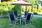 Садовый стул JARD Складной легкий алюминий, фото 4