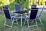 Садовый стул JARD Складной легкий алюминий, фото 7