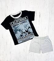 Комплект для мальчика футболка шорты