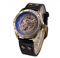 Мужские часы Механические с автоподзаводом, водонепроницаемые Skeleton Mechanical Watch, фото 1