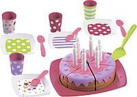 Набор посудки Ecoiffier С Днем Рождения посуда игрушечная детская 2613, фото 1