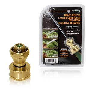 Насадка-распылитель воды Schmidt Brass Nozzle, насадка распылитель на шланг для полива 150011