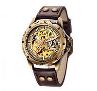 Мужские часы Механические с автоподзаводом, водонепроницаемые Skeleton Mechanical Watch., фото 1