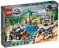 Lego Jurassic World Поединок с бариониксом: охота за сокровищами 75935