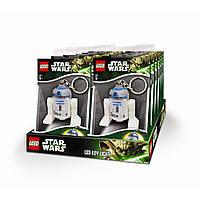 Лего брелок-фонарик Звездные войны. R2-D2  LGL-KE21-BELL