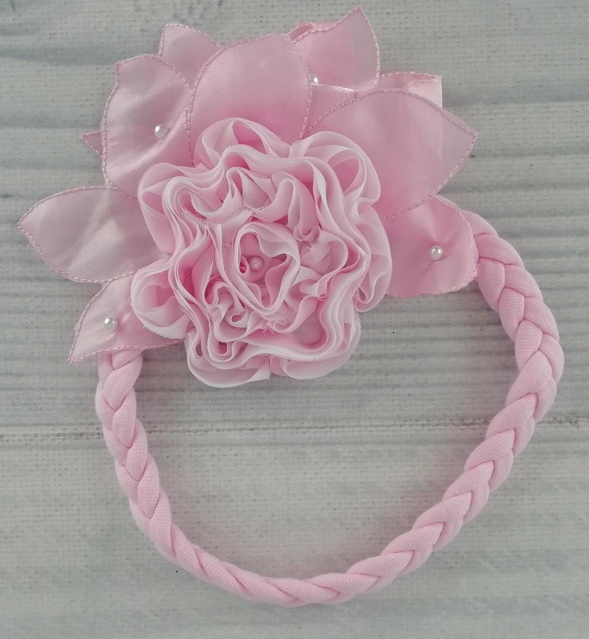 Повязка для волос Цветок 228008(50) Польша