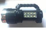 Ручний ліхтарик на сонячній батареї Super Bright BW-6870, фото 2